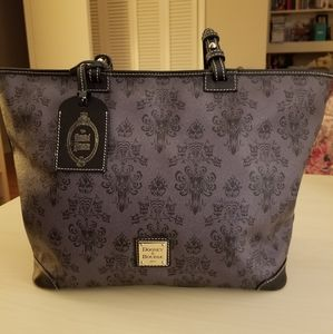 Disney Dooney & Bourke Haunted Mansion Tote